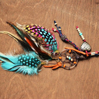 The Original Gypsy Dreamcatcher Feather Purse Charm