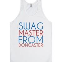 Swag Master from Doncaster-Unisex White Tank