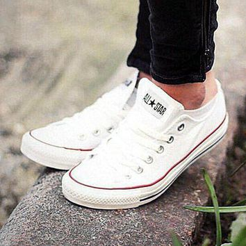 LMFUG7 Converse All Star Sneakers canvas shoes for Unisex sports shoes low-top