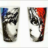 Les Miserables the Broadway Musical - Latte Mug with Wraparound Art