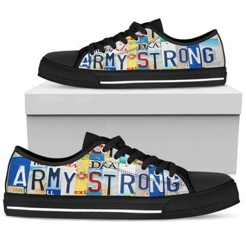 Army Strong Low Top