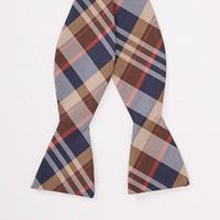 Tuttle Plaid Bowtie