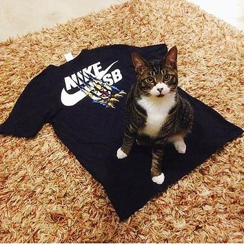 One-nice™ Nike SB Cat Scratch Tee Cat claw lovers T-shirt