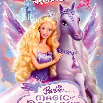 Barbie and the Magic of Pegasus 3-D 11x17 Movie Poster (2005)