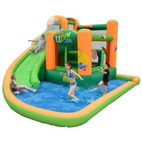 Kidwise Endless Fun 11 in 1 Inflatable Bounce House and Water Slide Combo | www.hayneedle.com