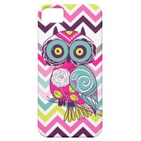 Chevron Retro Owl from Zazzle.com