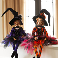 Halloween Poseable Large Witch