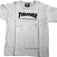 Thrasher Mag Logo Youth Tee X-Small White