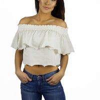 Somedays Lovin Bohemian Off The Shoulder Top