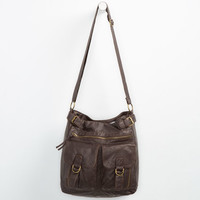 T-Shirt & Jeans Frankie Tote Bag Chocolate One Size For Women 24884540201