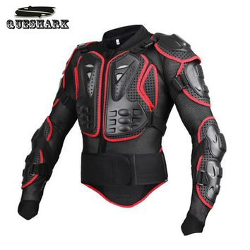 Mens Bike Motorcycle Race Body Protection Vest Armor Shooting Military Tactical Vest  Back Chest Protection Sports Safety