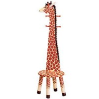 Giraffe Clothes Rack and Stool :: Clothes Stands & Racks :: Kids Furniture :: Home