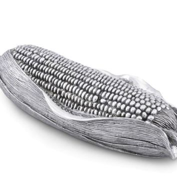 Pewter Corn Butter Dish