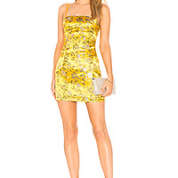 by the way. Amanda Floral Brocade Dress in Yellow Multi | REVOLVE