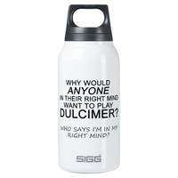 Right Mind Dulcimer 10 Oz Insulated SIGG Thermos Water Bottle
