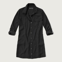 A&F Collection Silk Shirt Dress