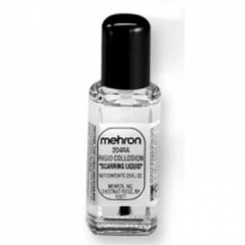 Mehron Rigid Collodion Scarring Liquid (0.25 oz): Face Paint Supplies: Lowest Priced Name Brand Face Paints