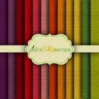 Colorful Burlap 12 Digital Scrapbook Papers - 12x12inch - Printable Backgrounds - Fabric Burlap Canvas Texture - INSTANT DOWNLOAD