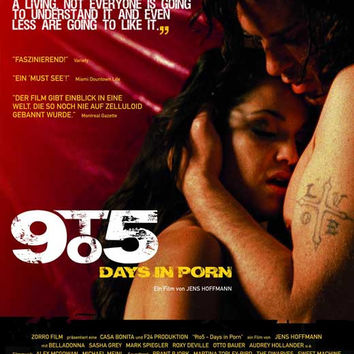 9to5: Days in Porn (German) 11x17 Movie Poster (2008)