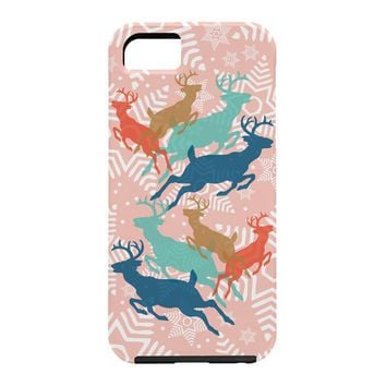 Heather Dutton Dashing Through The Snow Serene Cell Phone Case