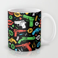 Say Hello To My Little Friend Mug by Tim Easley