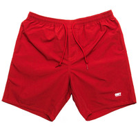 Obey - Isle of Youth Shorts (Red)