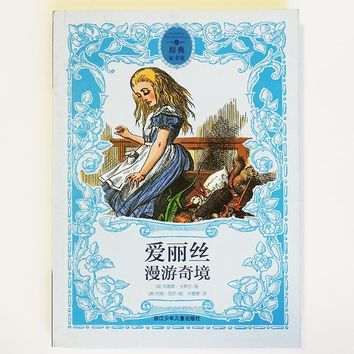 Alice in Wonderland Illustrated by John Tenniel Chinese Book for Children/Kids/ Adults Simplified Chinese Characters