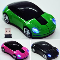 For Laptop PC 1800DPI USB 2.4G Wireless Optical Mouse Mice Car Shaped  D_L = 1712526852