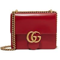 Gucci - GG Marmont mini leather shoulder bag