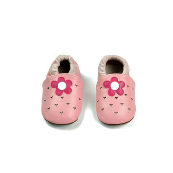 Leather Baby Infant Shoes [4919358532]