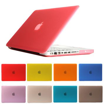 Hard Crystal Matte Laptop Sleeve Case For Apple Macbook Air 13 Accessories For Mac book Pro Retina 11 12 15 inch