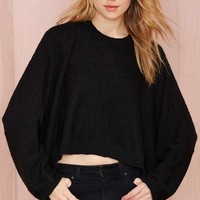 Nasty Gal Eclipse Oversized Sweater
