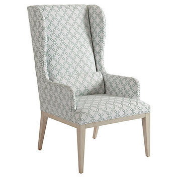 Seacliff Wingback Armchair, Sage - Barclay Butera - Brands | One Kings Lane