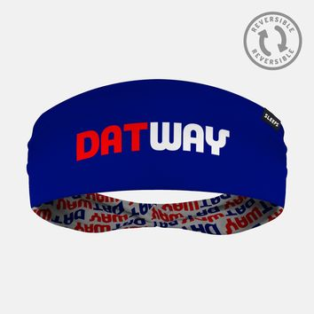 Datway Dark Blue Headband