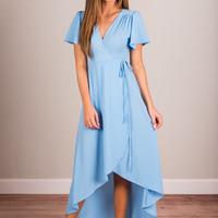 Face The Fab Maxi Dress, Periwinkle