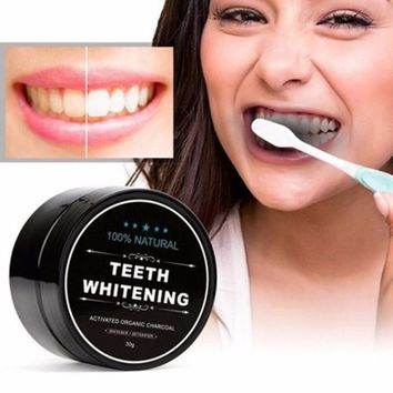Healthy Teeth Activated Carbon Whitening Dentifrice
