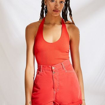 Urban Renewal Recycled High-Rise Cotton Short | Urban Outfitters