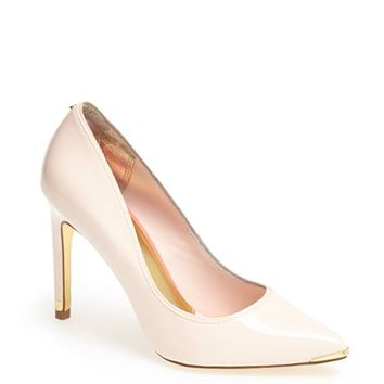 Ted Baker London 'Thaya' Leather Pointy Toe Pump