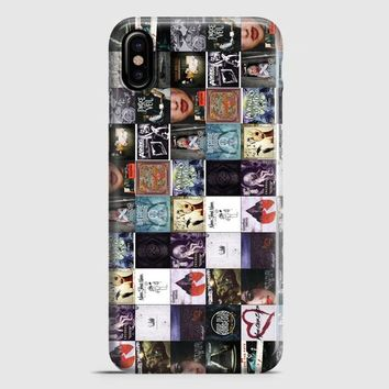 Sleeping With Sirens Anchor Kellin Quinn White iPhone X Case
