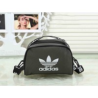 Adidas Fashion Women Men Canvas Sports Crossbody Satchel Shoulder Bag Dark Grey I-XS-PJ-BB