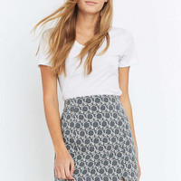 Urban Outfitters Floral Jacquard Utility Skirt - Urban Outfitters