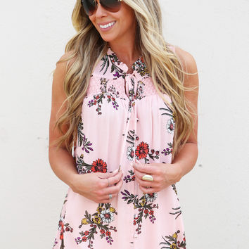 Endless Summer Tank {Pink}