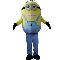 Laies Sky Despicable Me 2 Minion Dave Cartoon Character Mascot Costume