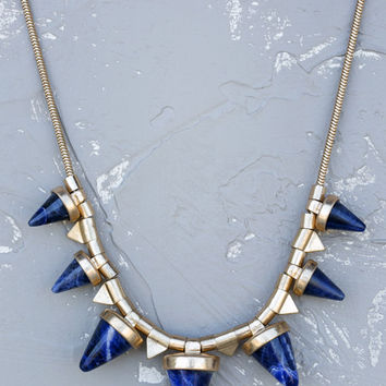 Geranium: Renata Spike Necklace