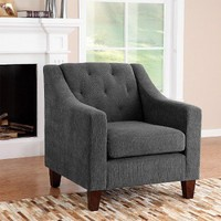 Tufted Chair - Gray