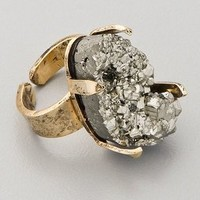 Citrine by the Stones Pyrite Pinky Ring | SHOPBOP