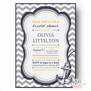 Shop Nautical Themed Invitations on Wanelo