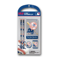 5 piece Stationery Set MLB New York Yankees