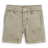 7 For All Mankind Cotton Twill Shorts (Baby Boys)