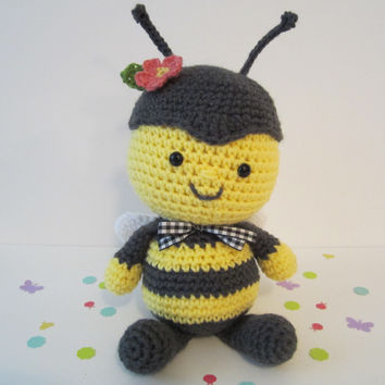 Bumble Bee Knitting Pattern : Best Bee Plush Products on Wanelo